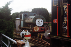 Thomas the slightly depressed Tank Engine