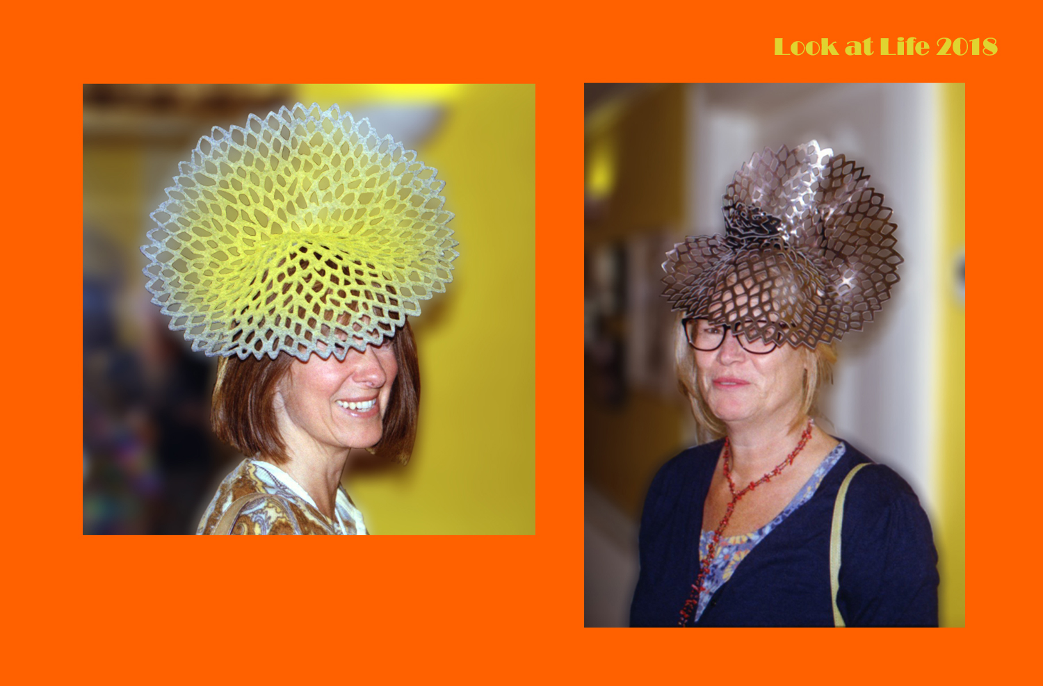 Place Mat Hats Like Coral