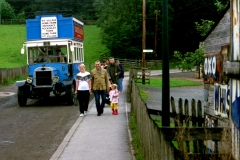 Classic Bus visits the Beamish pit village