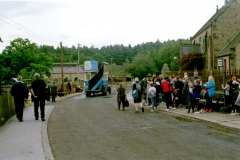 Beamish pit village and bus