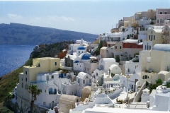 Oia - its the blue and white beauty