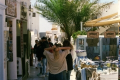 Oia - shopping is freely available