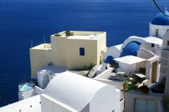 Oia. It's the blue!