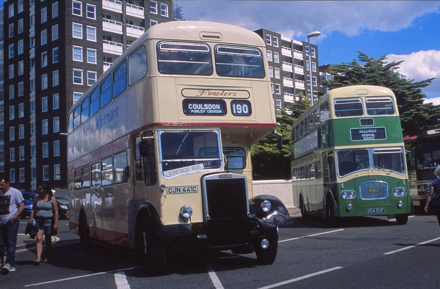 The cream of buses